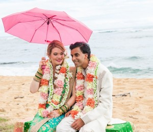 Indian Fusion Wedding, Kapaa, Kauai, Hawaii